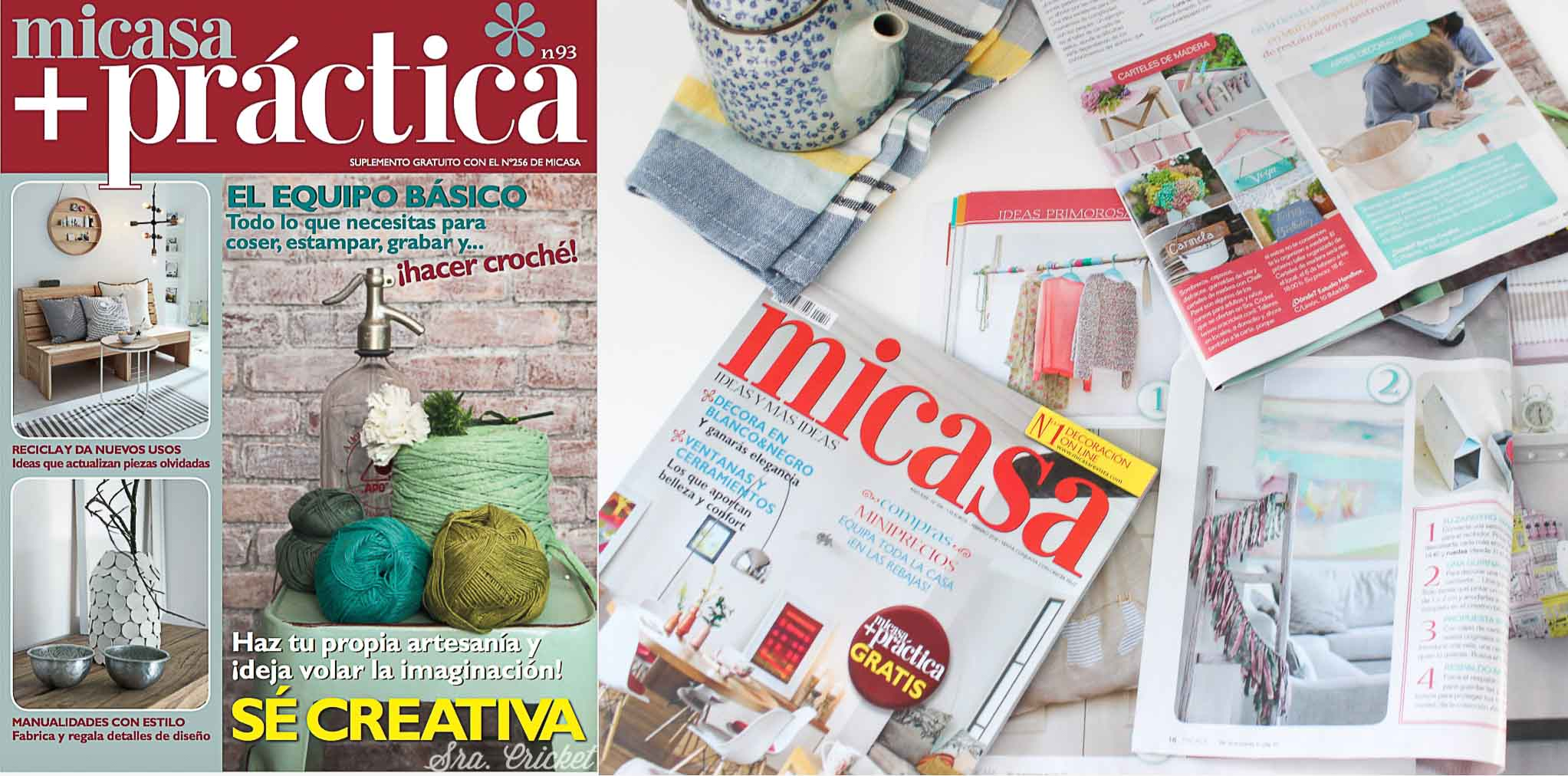 sra cricket en revista mi casa