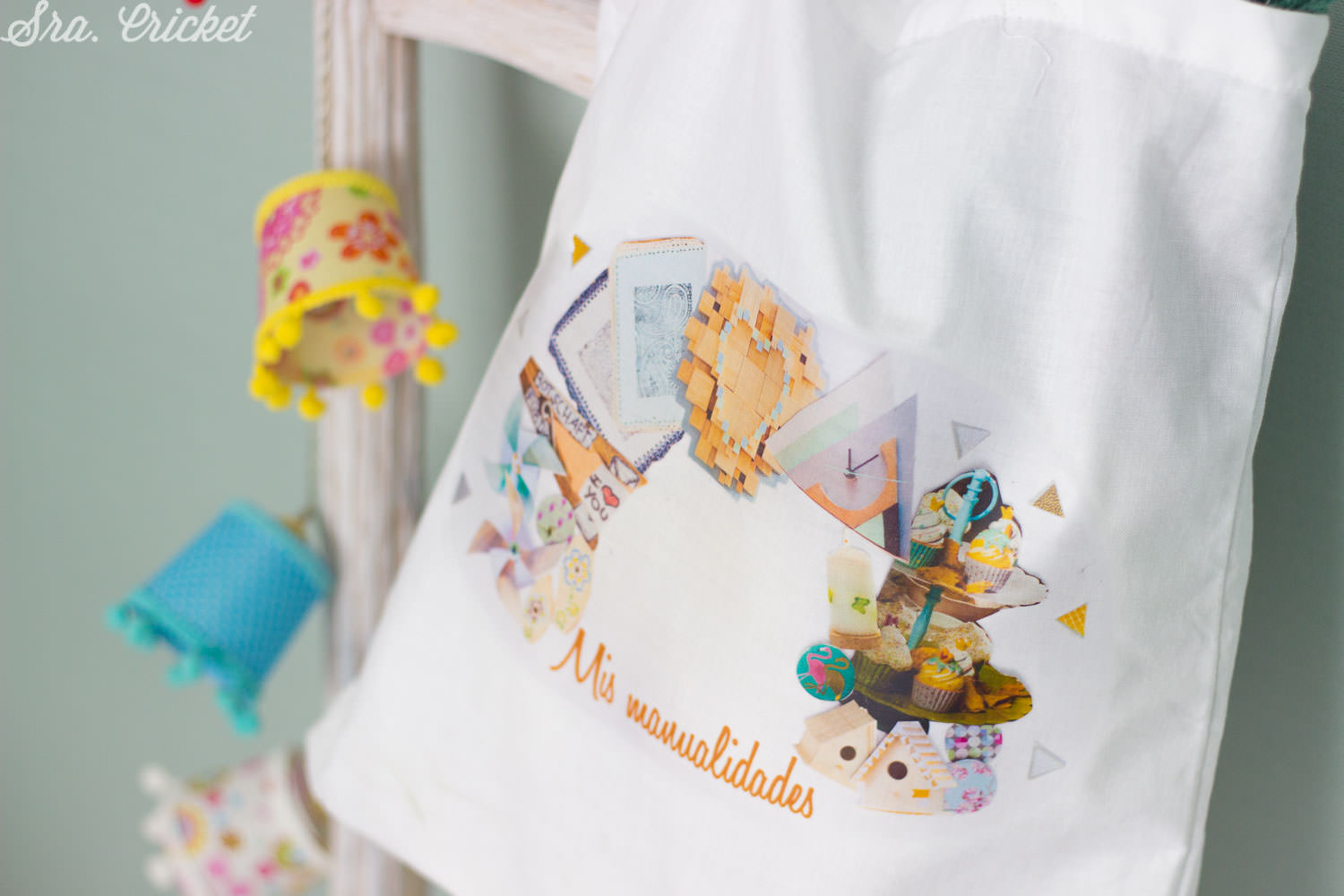 tote bag con transfer