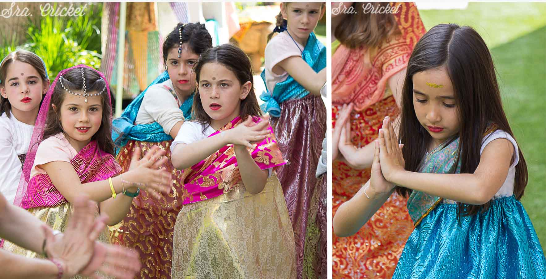 fiesta bollywood infantil