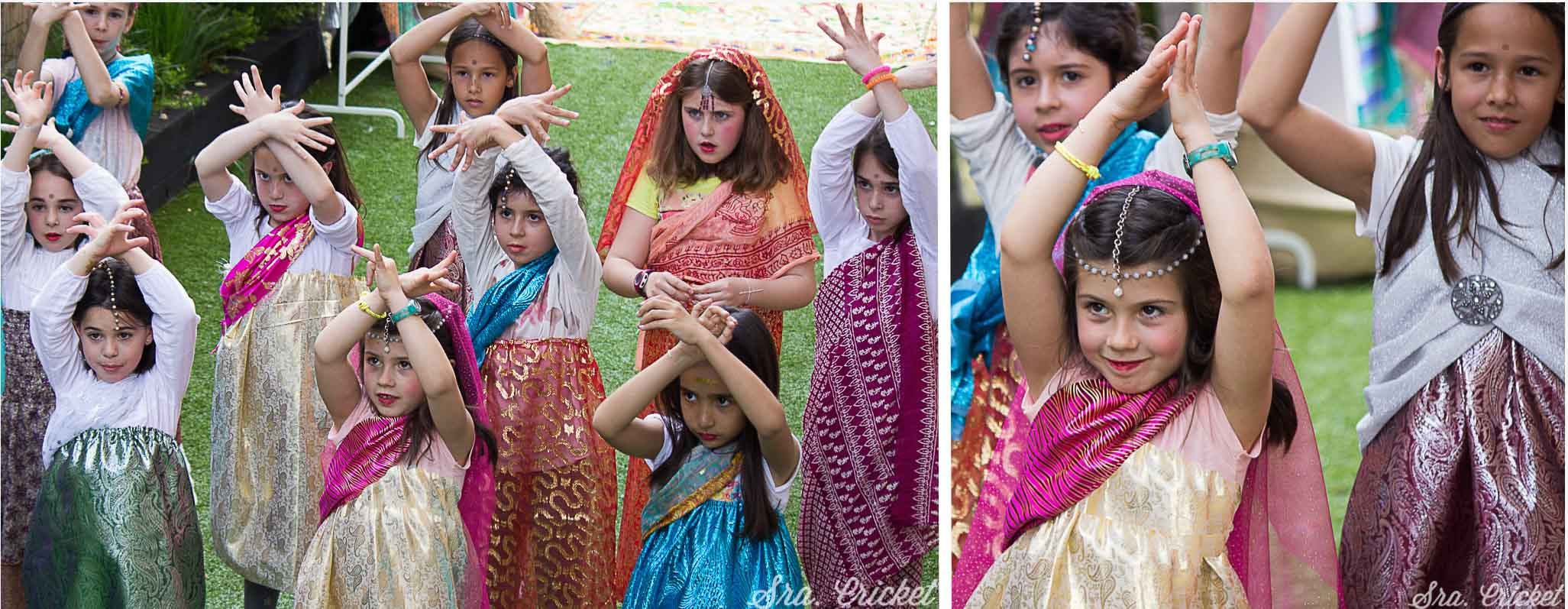 fiesta bollywood party infantil