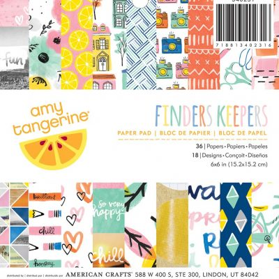 papel estampado kinders keepers
