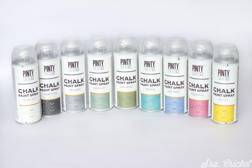 pintura chalk paint en spray