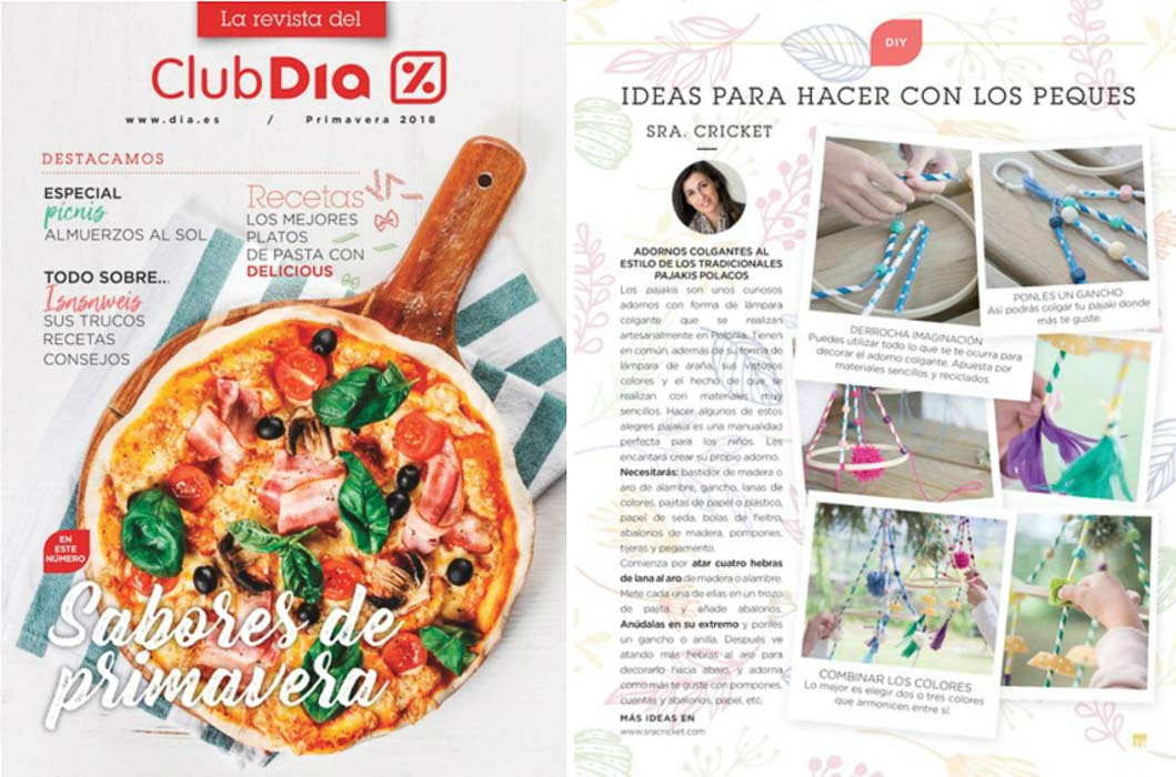 revista dia sra cricket
