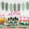 fiesta tropical aloha decoración de papel